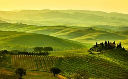 Collines de Toscane